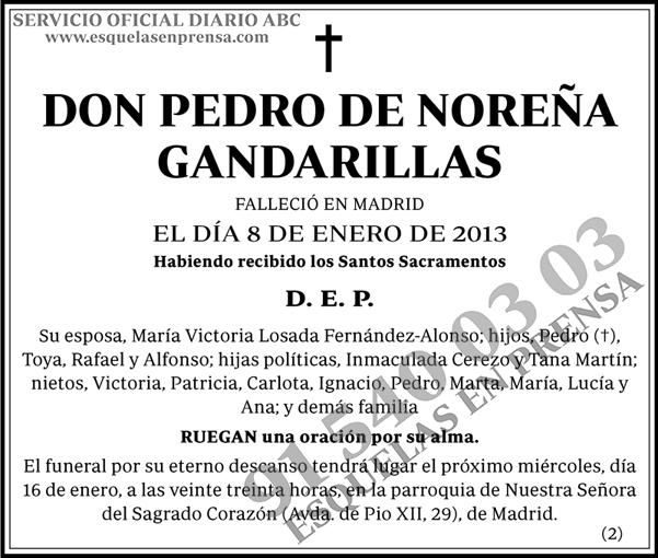 Pedro de Noreña Gandarillas